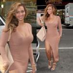 Beyonce toute souriante arpente les rues de New York City