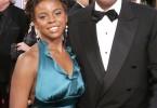 E'Dena Hines et son papa Morgan Freeman