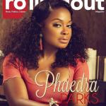 Phaedra Parks est à la une de Rolling Out Magazine