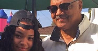 Ashley Jackson et son papa Jesse Jackson