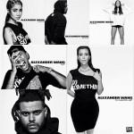 "Jhene Aiko, Kim Kardashian, Kanye West, Tyga, Pusha T et d'autres posent pour Alexander Wang dans la campagne ""Do Something"""