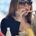 Mariah Carey ne se prive de rien, pas même d'une pizza!