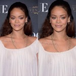 Rihanna sublime lors de la présentation de Vogue à la Paris Fashion Week