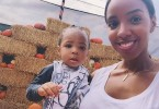 Kelly Rowland & baby Titan