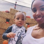 Kelly Rowland et son fils Titan se rendent à la ferme