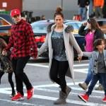 Jennifer Lopez, Casper Smart et ses enfants forment une parfaite petite famille