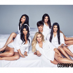 Kim Kardashian et sa famille à la une de Cosmopolitan