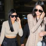Kendall et Kylie Jenner de retour à Los Angeles
