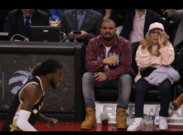 Drake et sa maman