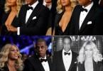 Beyonce et Jay Z assistent à un match de boxe