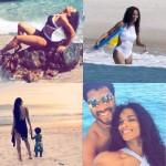 Ciara passe de magnifiques vacances avec son beau