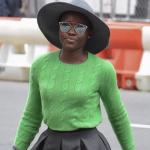 Lupita Nyong'o toute en beauté se rend au théâtre à NYC