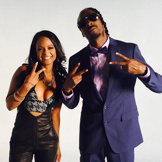 Christina Milian and Snoop Dogg