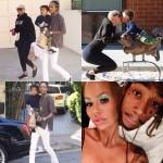 Amber Rose et Wiz Khalifa vont au parc avec leur fils Sebastian