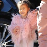 North West va à son cours de danse avec sa tante Kourtney Kardashian