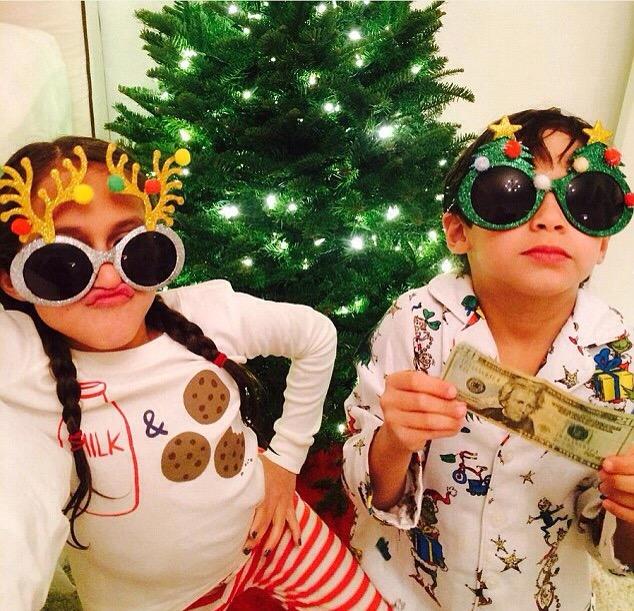 Emme et Max les enfants de JLO