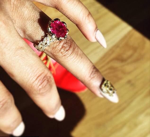 bague de Teyana Taylor fiancée à Iman Shumpert