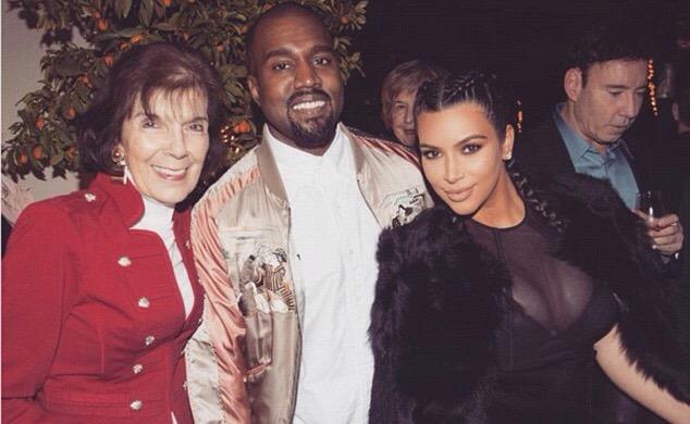 Kanye West, Kim Kardashian et North West