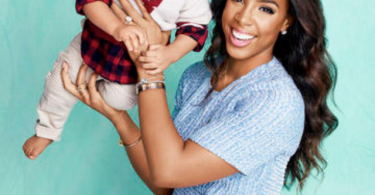 Kelly Rowland and her baby boy