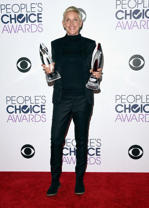 Ellen Degeneres at the 2016 People's Choice Awards
