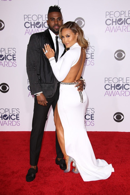 Jason Derulo and Daphne at the 2016 People's Choice Awards