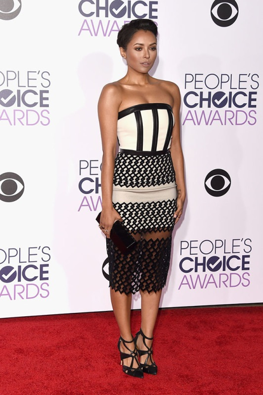 Kat Graham at the 2016 People's Choice Awards