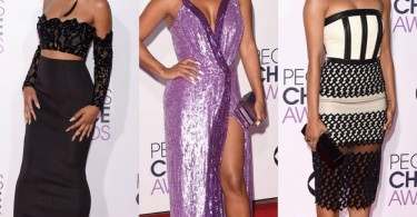 Keke Palmer, Christina Milian, Kat Graham at People's Choices Awards 2016