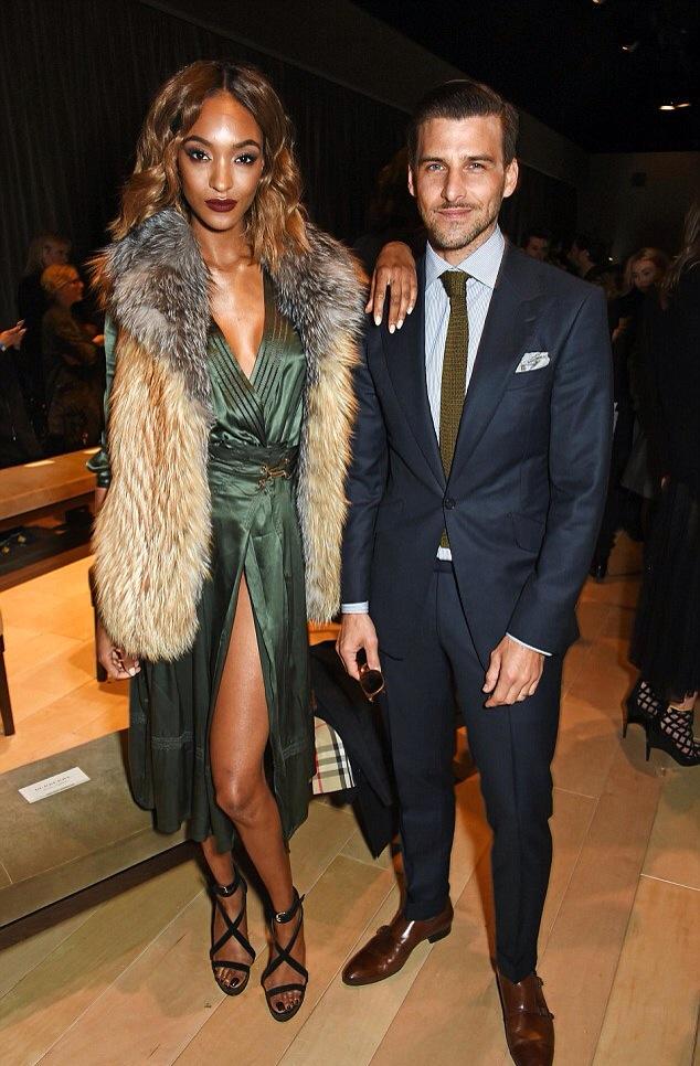Jourdan Dunn Burberry Men Fashion