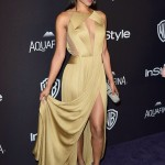 Candice Patton revealed her underwear on the red carpet of the Golden Globes afterparty