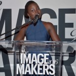 Lupita Nyong'o at the Image Makers in New York City