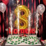 Monica Brown celebrates her son's birthday