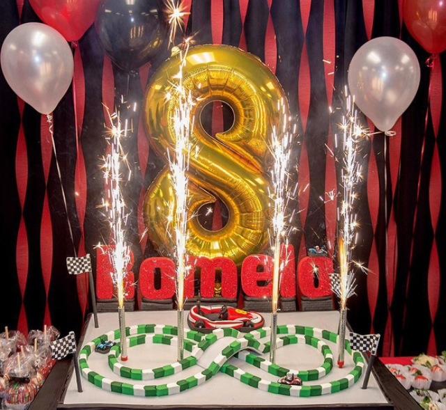 Monica celebrates her son's birthday
