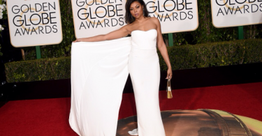 Taraji P.Henson Golden Globes Awards 2016