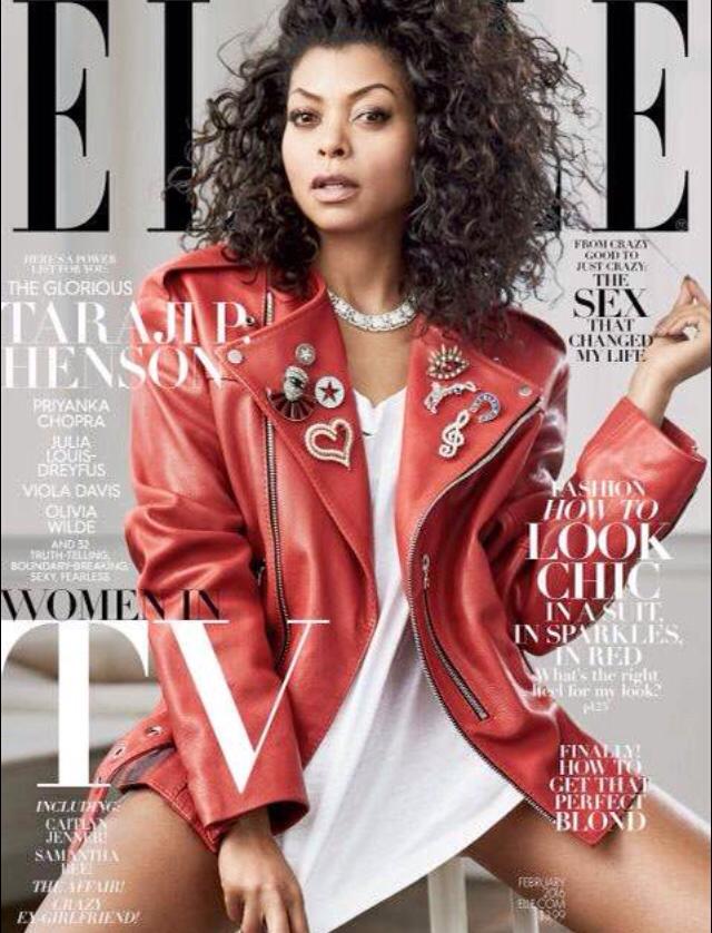 Taraji P. Henson Elle Magazine