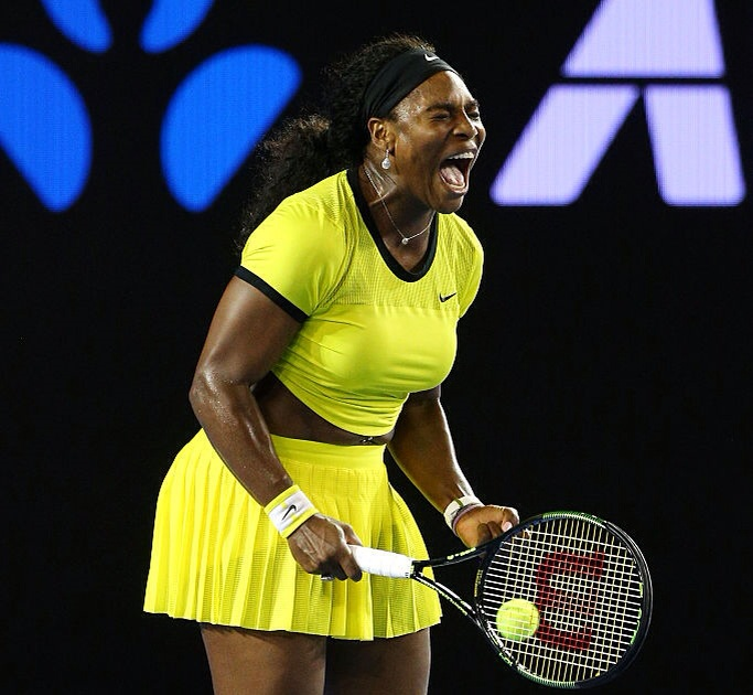 Serena Williams at 2016 Australia Open final