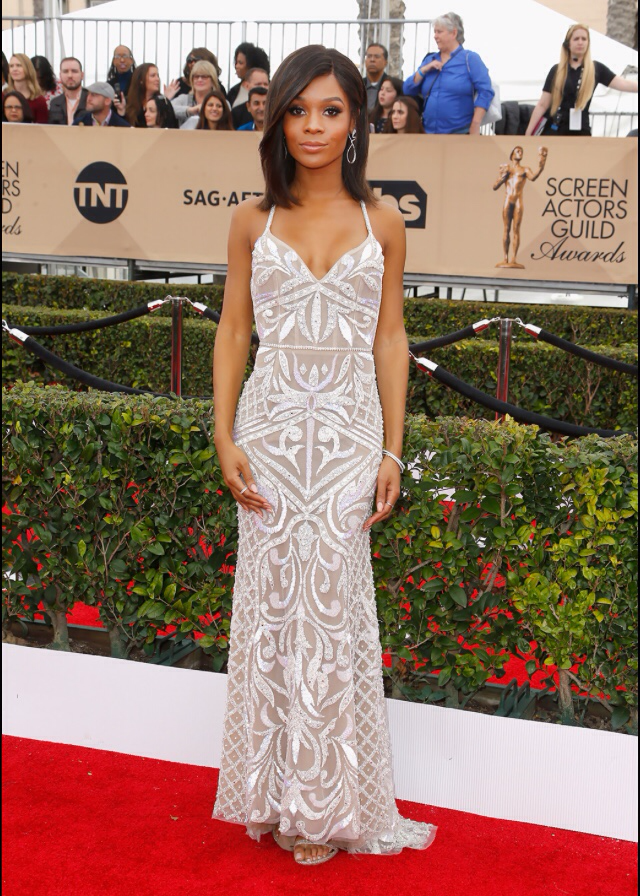 Zuri Hall- SAG Awards 2016