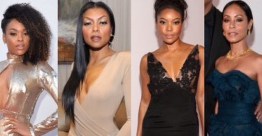 Gabrielle Union, Jada Pinkett Smith, Taraji P. Henson - NAACP Image Awards 2016