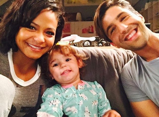 Christina Milian filming Grandfathered serie