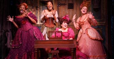 Nene Leakes and Keke Palmer in Cinderella Broadway