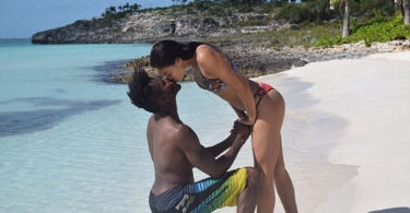 Shanina Shaik and her man