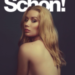 Iggy Azalea topless for Schon Magazine
