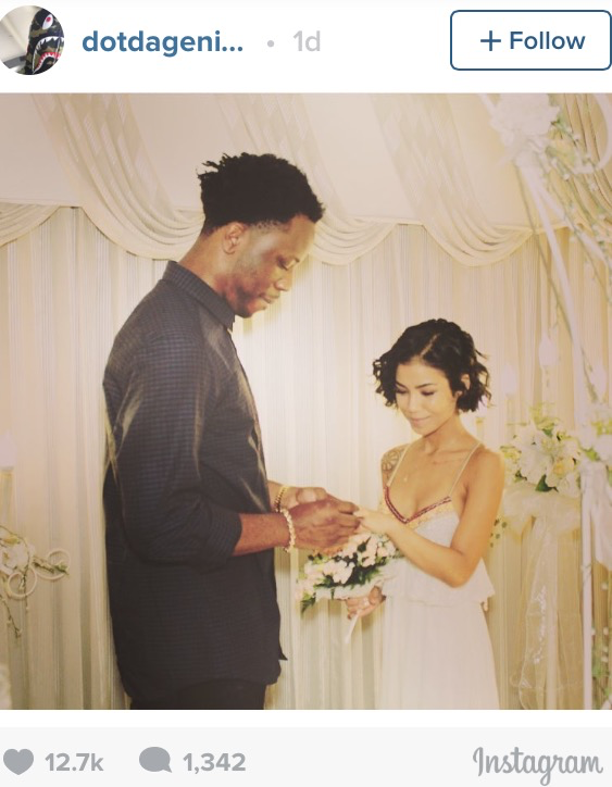 Jhene Aiko and Dot Da Genius got married