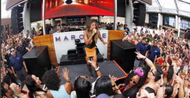 Ciara performing in Las Vegas