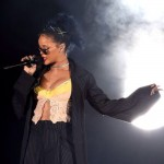 Rihanna in concert in Washington DC