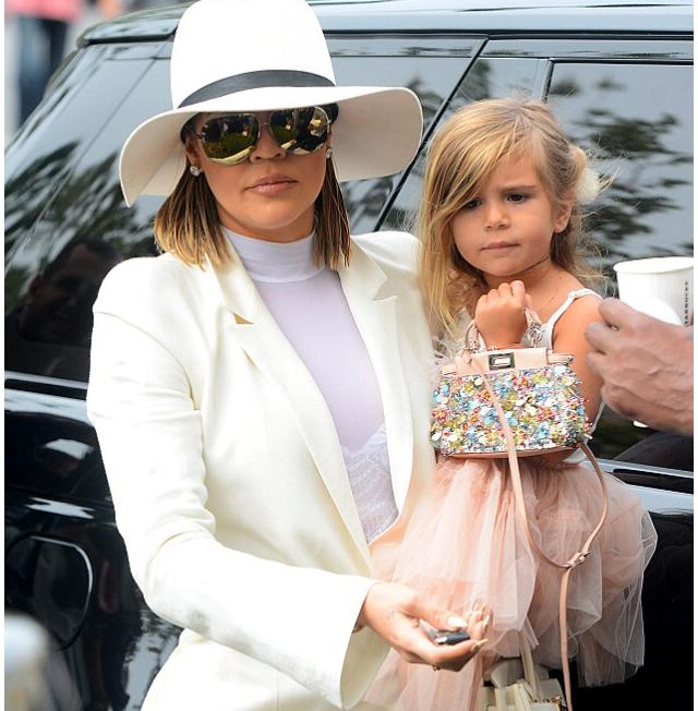 Khloe Kardashian and Penelope Disck