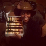 Lupita Nyong'o celebrates her 33rd birthday in Broadway