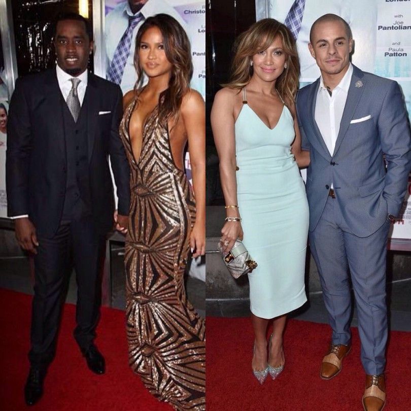 Cassie and Diddy, Jlo and Casper Smart