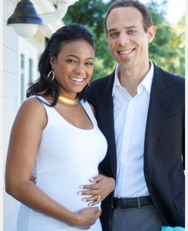 Tatyana Ali and husband