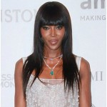 Naomi Campbell at the amfAR Gala in Brazil