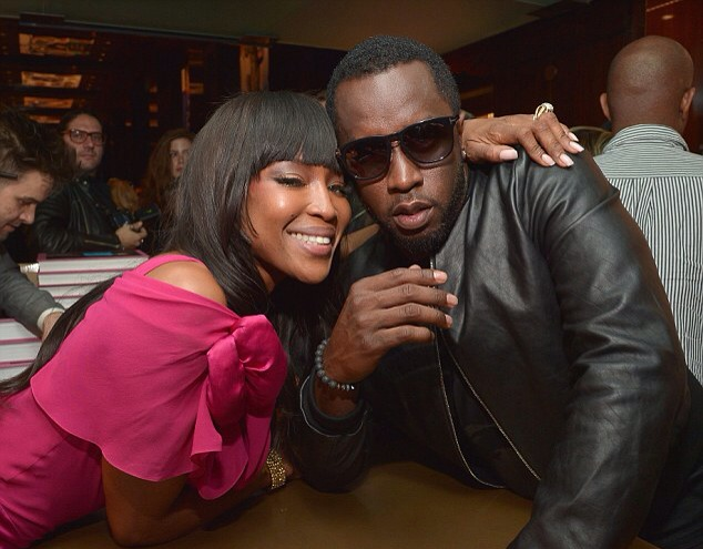 Naomi Campbell and Diddy